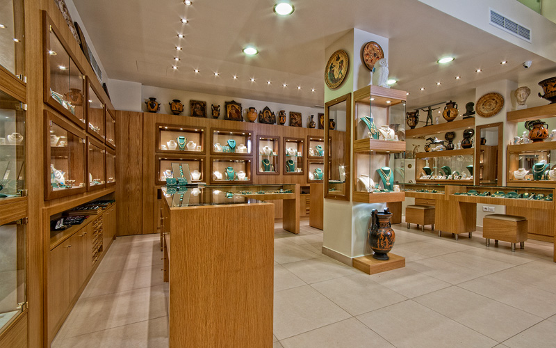 Jewellery, Фабрика золотых изделий